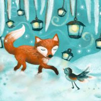 the fox and the bird by libelle