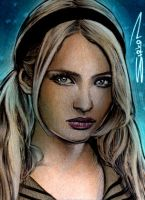 Babydoll Sketch Card by RandySiplon