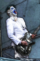 Wes Borland Art by dxal