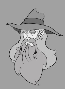 Gandalf the Gray by Shaggy28