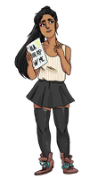 Ask/RP blog | Imani Saint by rectumery