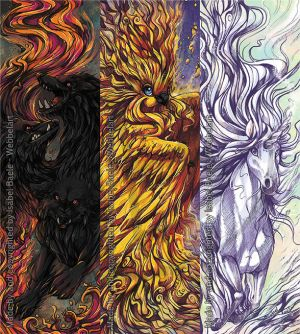 Mythological Creatures Bookmarks