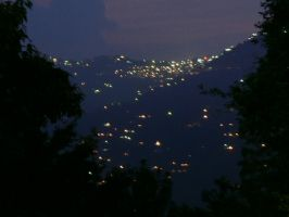 Murree Hills - Night Shot by airblue