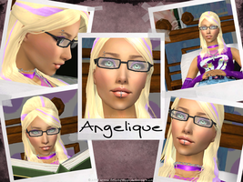 :Sims 2-Angel: by Minty-Hippo