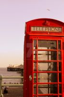 Vintage Phone Booth by TheLovingKind89