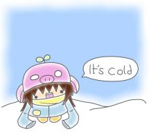 ITS COLD. by IgyChyin