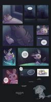 M5 Epilogue: A Visitor (pg. 1) by chibiphlosion