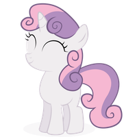 Happy Sweetie Belle by GJB93