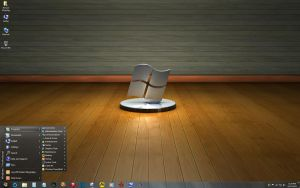 Windows 7 on Delilah - Windows Gallery Desk by slowdog294