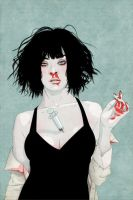 Pulp Fiction Illustration by Carla-AD