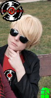 Strider cosplay @Homestuck by CarcinoVantasKisu