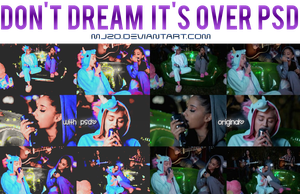 Don't Dream It's Over PSD. by Mjzo