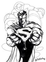 Superman by axis000