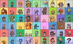 SSB4 sprites + DLC update! by Neoriceisgood