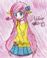 Fluttershy by Chibii-chii