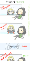 THOR 2 +LOKI'D by GoodMorningBob