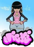 nicki minaj by RashonTate