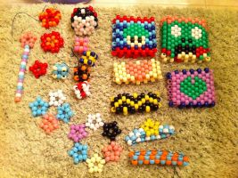 Woo! Pony beads! by norbertrox