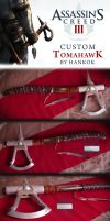 Assassin's Creed III Tomahawk by Hankok-star