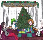 Christmas in pajamas by nonki-kinezumi-chan