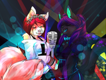 [COMM] Singing Sisters by DapperDoom