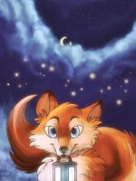 Night of the Fireflys by IzaPug