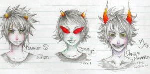 Homestuck -Sketching- by SouOrtiz