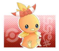 Torchic! by lilidoodle
