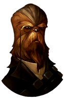 Old Fashion Chewbacca icon by SlamItIcon