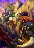 Link- the legend of zelda by dramegar