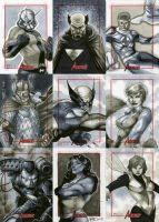 Marvel: 2012 Greatest Heroes Sketch Cards 08 by RichardCox
