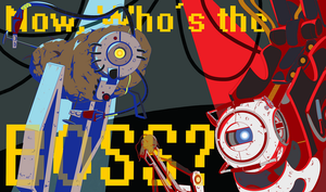 Now im the boss MS PAINT by FauxBoy