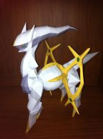 Arceus papercraft by armmm9