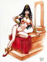 DEJAH THORIS Original EBAY Pinup Art PATTY by Sean-Patty