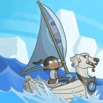 Legend of Korra + Wind Waker (part 2) by Wolf-Waldemar