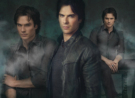 Damon Salvatore by Vampiric-Time-Lord