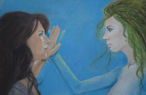Helen and Sally - Pastel by ZouilleTMF