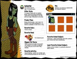 Monster High OC Profile: Saliah-Tor by ThestralWizard