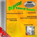 Digial Coloring Pencils .:Color Set:. by FreakyEd