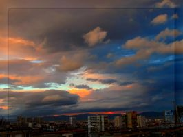 Sky Above My City 6 by Aivaseda