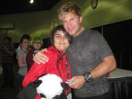 Anime Expo: Meeting Vic (Second time) by punkanimelover