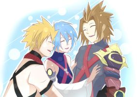 [Kingdom Hearts Birth By Sleep /2.8] Reunited ~ by JaydeeDV