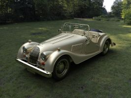 Morgan 4 SportsCar - Cream (matte) by Livius70