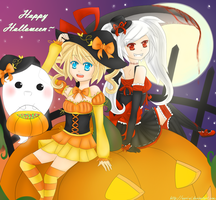 The Two Sides Of Halloween by Anri-ni