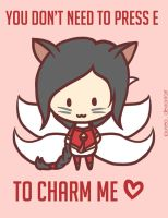Ahri: LoL Valentine's Day by Jaunea