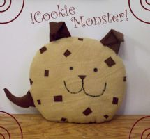Cookie Monster Monster Cookie by COOKEcakes