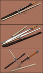 [NoTexture] 2 brothers' Dragon Slayer Weapons by Akelun