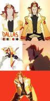 Spaghetti Chanbara: DALLAS DUMP by TacosaurusRex