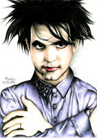 Robert Smith by MikeyJedH