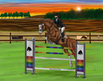 AI3DE - Show Jumping - 6th place by BraveWellfareVisions